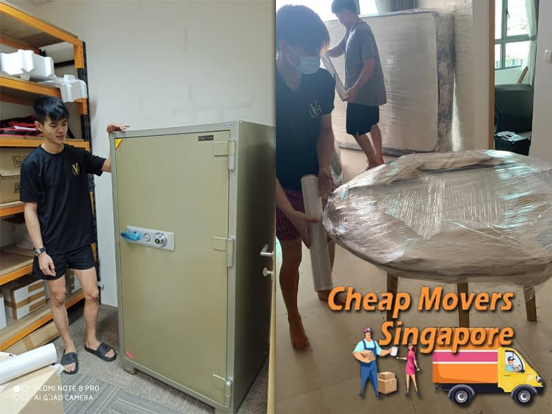 House Moving Service from Jurong West to Bukit Merah Central