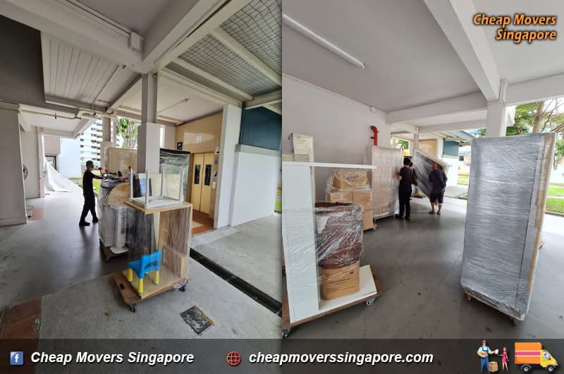 House Moving Service from Shenton way to Bishan