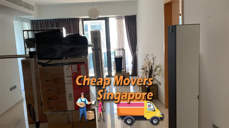 House Moving Service from West Coast Drive to Yishun Central