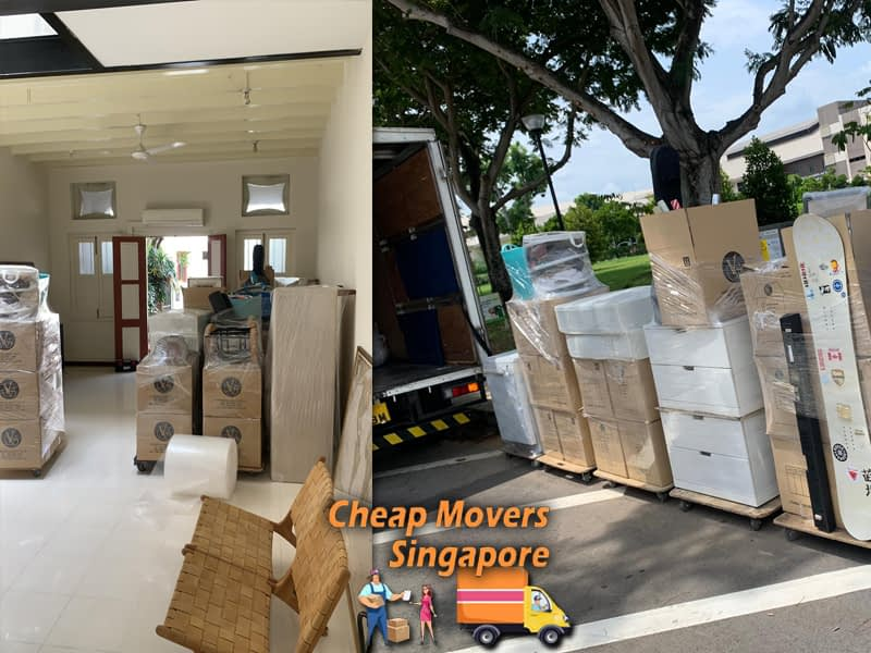 House Moving Service from Bedok Reservoir Crescent to Adis Road
