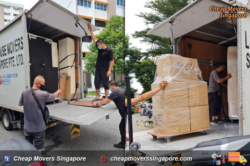 House Moving Service from Geylang to Bukit Panjang Ring Road